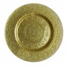 ChargeIt by Jay Alinea Gold Glass Charger Plate 13""