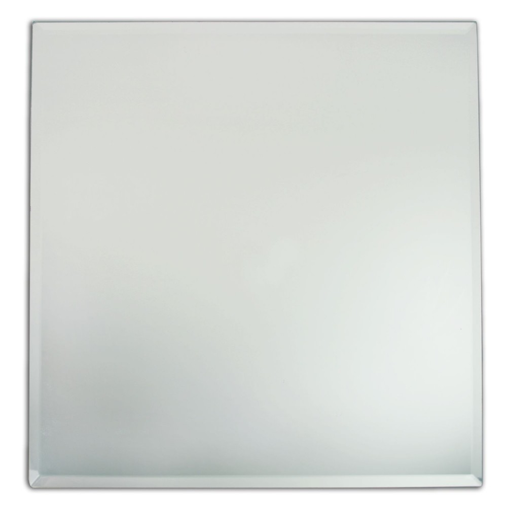 ChargeIt by Jay Glass Mirror Square Charger Plate 13""