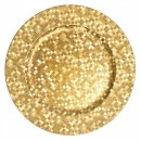 ChargeIt by Jay Gold Mosaic Round Charger Plate 12""
