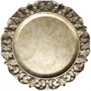 ChargeIt by Jay Silver Embossed Charger Plate 14""
