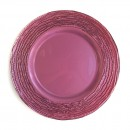 Jay Imports Arizona Mulberry Charger Plate 13