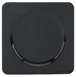 Square Acrylic Black Charger Plate