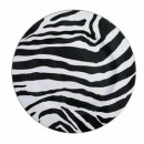Zebra Acrylic Charger Plate
